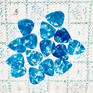 15 New SKY BLUE Pearl Shell Color Guitar Picks Medium 0.71mm Thick, Keyboards: Fender, Bass, Acoustic, Effects for Sale in Pomona, CA
