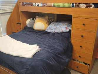 Bunkbed With Storage And Staircase!! for Sale in Reisterstown,  MD