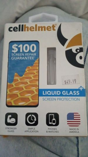 Cell Helmet Liquid Glass Screen Protection for Sale in Tempe, AZ