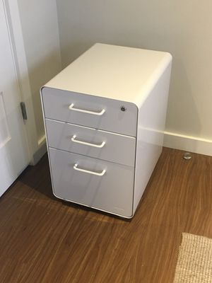 Poppin 3-Drawer Stow Locking Filing Cabinet for Sale in Lowell, MA