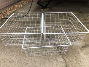 Wire baskets for Sale in Melbourne, FL