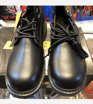 Men's Genuine Leather upper Work Boots 9.5 for Sale in Queens, NY