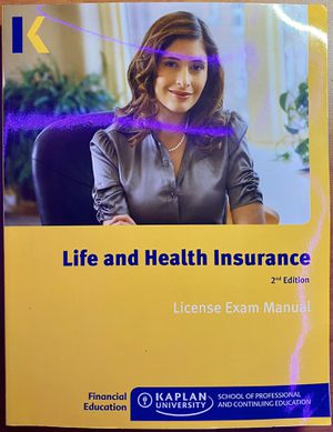 Life and Health Insurance Book for Sale in Fayetteville, AR