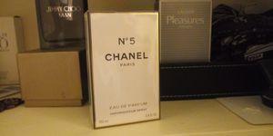 Chanel No.5 Woman's Perfume 3.4oz for Sale in Pasadena, TX
