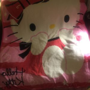Hello kitty bedspread / quilt so cute and sheets for twin bed MSRP189.95 sale 4 for Sale in Salt Lake City, UT