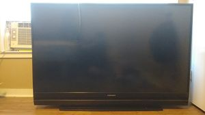 """Mitshbishi 60"""" inch black TV, 1080p, DLP, Projection, Home cinema for Sale in Houston, TX"""