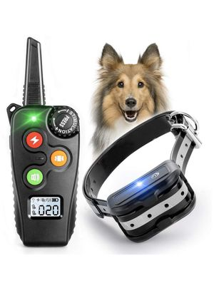 Dog Training Collar, Dog Shock Collar with 1000Ft Remote, 3 Modes Beep/Vibration/Static, Rechargeable Waterproof Electric Collar Trainer, Adjustable for Sale in Corona, CA