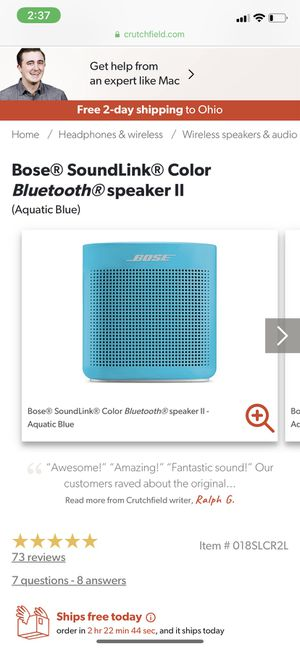 Bose connect speaker brand new for Sale in Columbus, OH