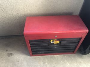 Craftsman and assorted tools with top tool box and Husky tool box bottom for Sale in Rancho Santa Margarita, CA