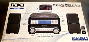 Naxa Digital CD micro System with am/FM stero Radio for Sale in Woonsocket, RI