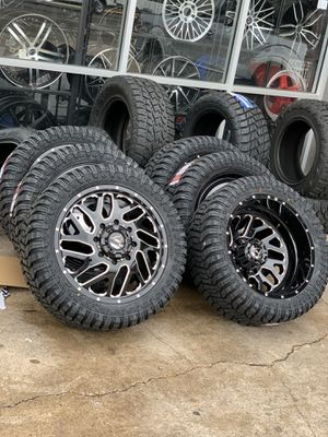 Need dually wheels tires we have it. Call us best deal for Sale in Houston, TX