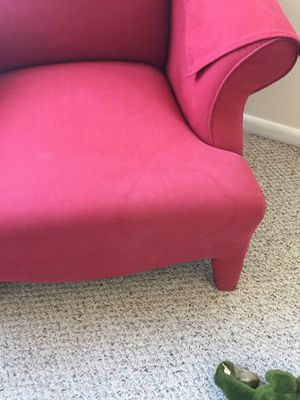 Red Armchair for Sale in Arlington, VA