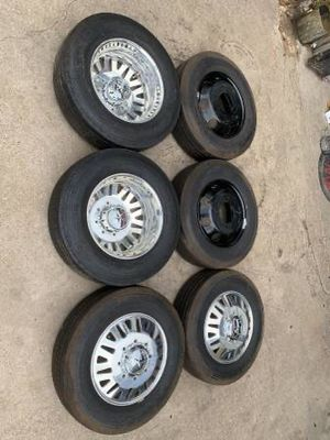 "Like new 20"" American Force Rims And Tires 20 Forces Dually Ram 3500 / Chevy Silverado GMC Sierra Wheels 8 Lug direct Bolt Pattern ## Fuel Fuels Moto for Sale in Dallas, TX"