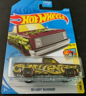 2019 Hot Wheels '83 Chevy Silverado 247/250 HW ART CARS 6/10 for Sale in Whittier, CA