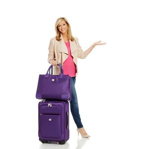 Joy Purple Luggage Set W/Tote Bag for Sale in Warren, MI
