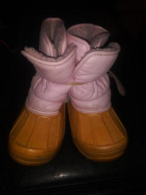 Girls Pink Winter Snow Boots 10M for Sale in Gaithersburg, MD