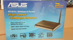 20$ firm asus router wireless never open for Sale in Clearwater, FL