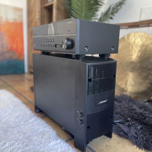 BOSE Subwoofer + Connection Cables + BRAND NEW Yamaha Bluetooth AV Receiver for Sale in Beverly Hills, CA