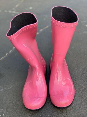 Big Girls-UGG rain boots for Sale in Burlington, NJ