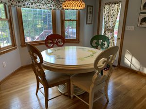 Kitchen table chairs and sideboard for Sale in Plymouth, MA