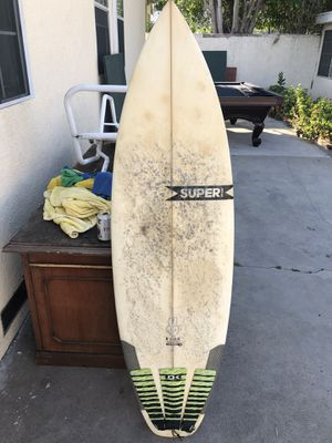 "5'6"" Super Brand Surfboard for Sale in West Los Angeles, CA"