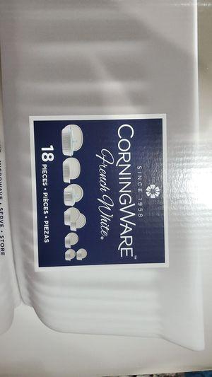Corningware bakeware set 18 pc for Sale in Hanover, MD