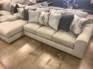 """New 127"""" Sectional —> EXTRA DEEP SEATING for Sale in Virginia Beach, VA"""