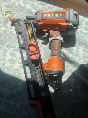 RIGID NAIL GUN!!! ONLY USED A HANDFUL OF TIMES!!! for Sale in West Linn, OR