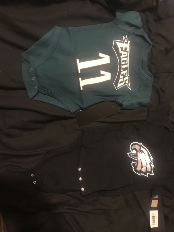 NFL official eagles baby clothes both for $30