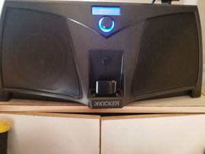 Kicker ik501 digital stereo system with bluetooth adapter and remote for Sale in Chula Vista, CA