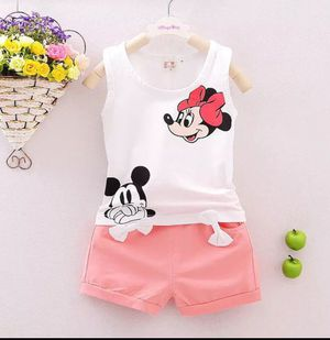 Pudcoco 2019 Brand New 2pcs Toddler Infant Kids Baby Girls Clothes T-shirt Tops+Pants Outfits Set for Sale in Alafaya, FL