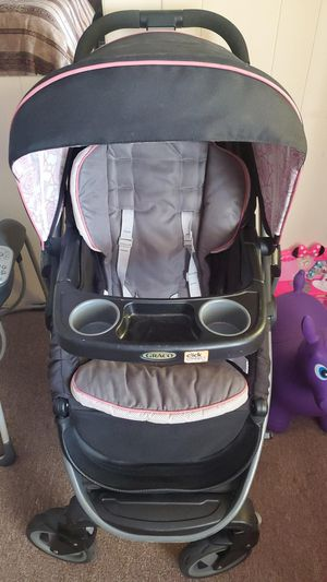 baby stroller and baby swing for Sale in Las Vegas, NV