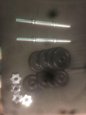 Adjustable dumbbells for Sale in Arcata, CA