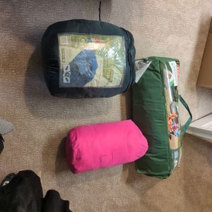 Sleeping bags and 6-person tent for Sale in Bellevue, WA