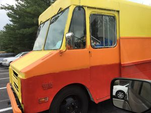 Food truck for sale 81 Chevy grill, fryer, water tank, water pump $17500 for Sale in Fairfax, VA