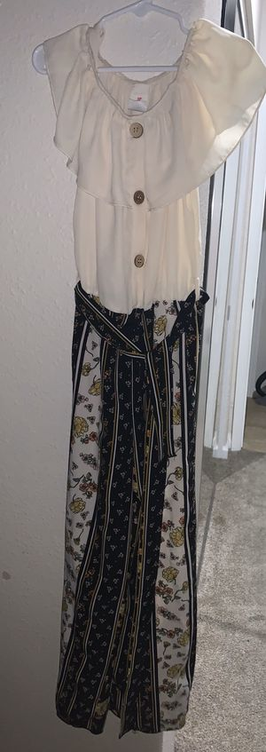 Girls jumpsuit romper siZe 12 for Sale in Antioch, CA