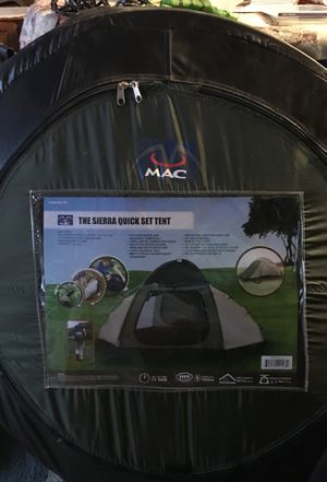 Sierra quick set tent for Sale in Bakersfield, CA