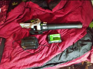 Ego power + blower for Sale in Columbus, OH