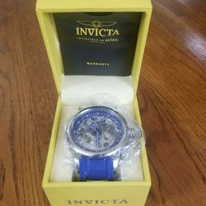 Men's Watch Invicta Skeleton 52mm , New Year's SALE for Sale in Rockville, MD