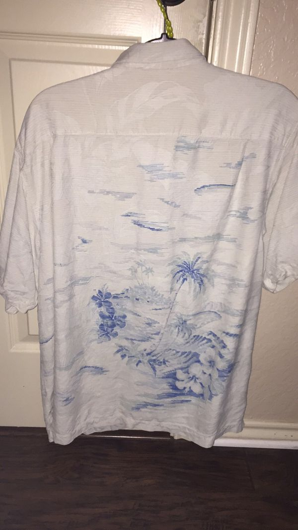 Tommy Bahama Blue/White Vintage Shirt