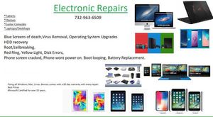 Computer, laptop, tablet, phone, game console Repairs for Sale in Toms River, NJ