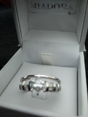 14 k demand ring 1/2 ct. White gold for Sale in Hutchinson, KS