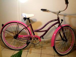 "26"" hot pink beach cruiser for Sale in Garden Grove, CA"