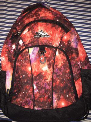 Galaxy High Sierra Backpack for Sale in Modesto, CA