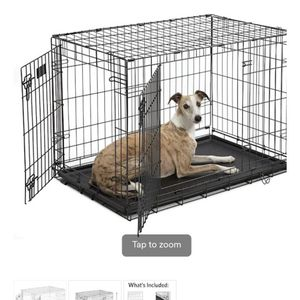Large - 2 Door Dog Crate for Sale in Huntington Beach, CA
