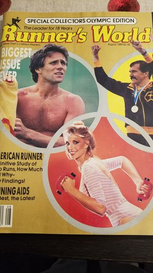 Runners world olympic edition for Sale in Glendora, CA