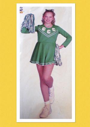 """PEP RALLY CHEERLEADER!"" Women's green cheerleader costume size LARGE - NEW! for Sale in Carrollton, TX"