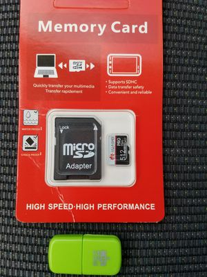 HUAWEI 512gb SD TF SDXC microsd + usb micro reader for Sale in Sudley Springs, VA