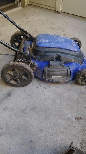 Kobalt electric lawn mower for Sale in Dallas, TX