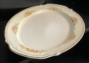 Vintage Antique Chatham China Made In Japan Fine Porcelain Oval Platter Serving Dish for Sale in Chapel Hill, NC